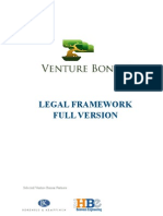 Venture Bonsai Legal Framework
