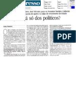 Artigo opinião Artur Penedos - Expresso 30-04-11