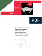 Agencia Española De Cooperacion Internacional - Comunicacion Sostenible