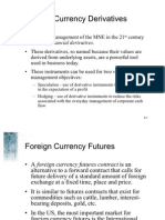 Chapter 5 Forex Derivatives