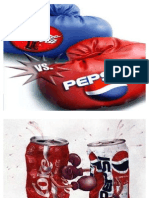 COKE vs PEPSI - Marketing Mix