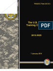 Army Training Plan Concept