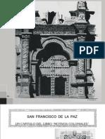 Motivos Coloniales, San Francisco de La Paz, Pág 50, 66
