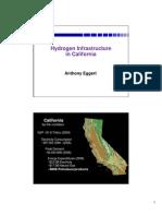 Hydrogen Hydrogen Infrastructure Infrastruc in CA 2011