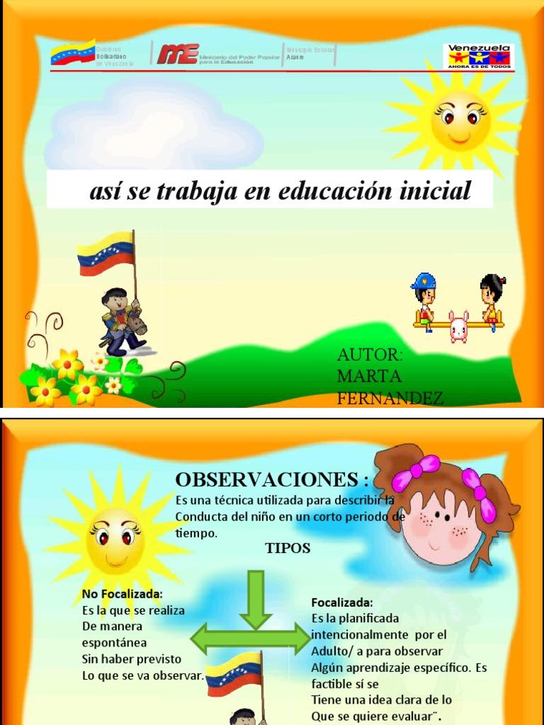 Asi se trabaja en educacion inicial 1 for Planificacion de educacion inicial