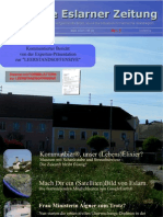 Erste Eslarner Zeitung, 5. Ausgabe 2011