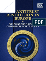 The Antitrust Revolution in Europe