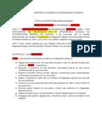 ESTATUTO DO DIRETÓRIO ACADÊMICO DE ENGENHARIA QUÍMICA- Modificado