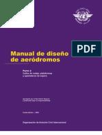 MANUAL DE DISEÑO DE AERODROMOS calles de rodaje,plataforma,y apartaderos