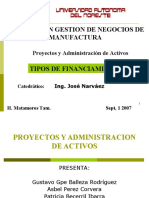 Tipos de Financiamiento670