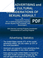 Shelter Presentation Ads and Cultural Connections to Sex Assault 10-27-05