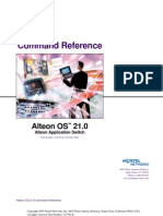 Alteon OS 21 Command Reference
