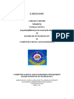 Project Report E-Medicard