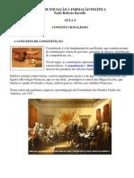 AULA 4- Constitucionalismo