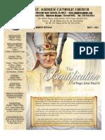 May 1, 2011 Bulletin
