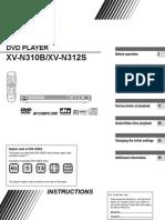 Jvc - Dvd Player Xv-n312
