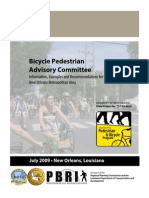 Bicycle Pedestrian Advisory Committee 2009