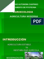 AGROECOLOGÍA - AGRICULTURA MODERNA