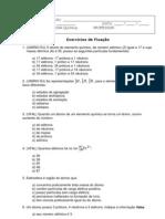 1 Lista de Exercicios Quimica(2 Unidade)