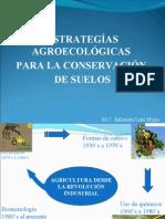 ESTRATEGIAS AGROECOLÓGICAS PARA LA CONSERVACIÓN DE SUELOS
