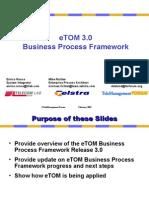 eTOM 3.0 Intro