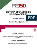 PC-BSD - Sistema Operativo de Código Abierto