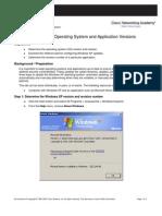 Lab 2.3.3.2 OS Applic Version