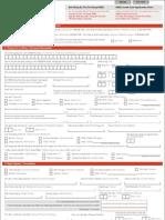 Credit Card Application Form- HSBC