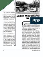 Labor Movements in Bahrain, Khalaf, 1985