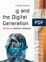 Writing and the Digital Generation Essays on New Media Rhetoric-MANTESH