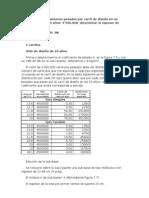 Diseño y evaluacion de un pavimento rigido