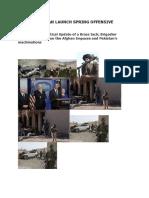 Afghan Taliban Launch Spring Offensive -Brigadier Chitranjit Sawant, VSM