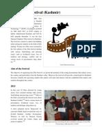 Verite Film Festival (Kashmir - 2011.)