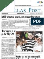 The Dallas Post 05-01-2011