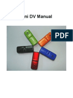 Mini DV Manual