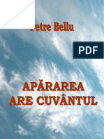 Petre Bellu - Apărarea are cuvântul