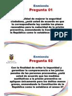 Consulta Popular Ecuador 2011 - Referendo - Preguntas y Anexos