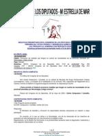 RECOPILATORIO DE INICIATIVAS PARLAMENTARIAS sobre SQM-SFC-FM-EHS presentadas al Congreso de los Diputados a fecha 25 de abril de 2011