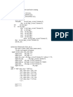 Analog to Digital Converter and Back to Analog