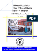 NMH Resources Oral Health Module for Prevention of Dental Caries in School Children