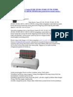 Cara Service Printer Canon IP1200