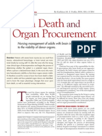 Brain Death & Organ Procurement