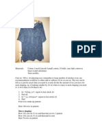 Cotton Lace Tunic