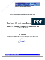 Data Center I/O Performance Issues and Impacts