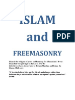 Freemasonry and Islam with a special reference to Pakistan