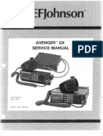 Avenger GX Service Manual