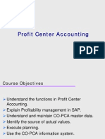 SAP Profit Center Accounting Overview