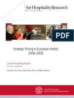 Article_hotel Pricing in Europe 2006_2009