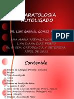 Seminario Autoligado Por Ana Maria Arevalo y Lina Diana Diaz
