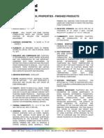 Plastisol Properties
